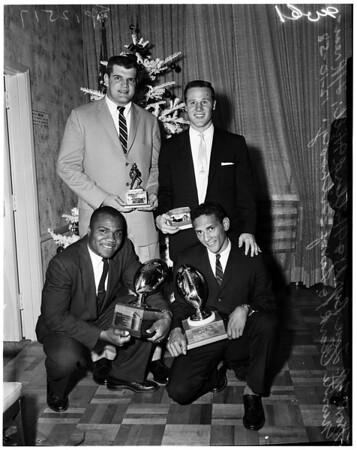 Football -- University of Southern California player awards, 1958