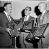 Traffic safety awards, 1958
