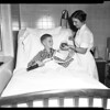 Frozen boy (Saint Mary's Hospital Long Beach), 1957
