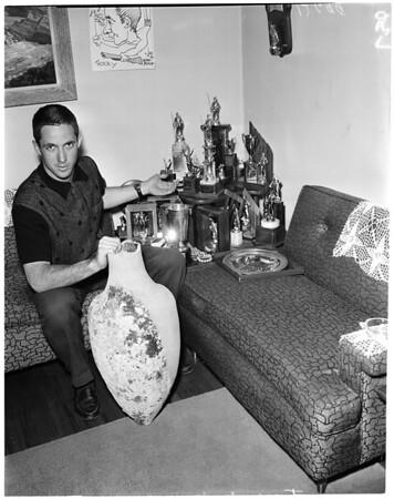 Skin diving find, 1960