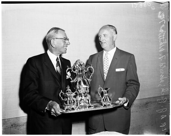 Whittle testimonial luncheon, 1958