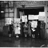 Tax pickets, 1957