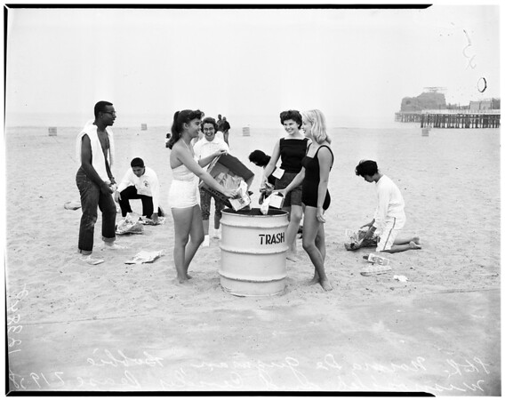 Ephebian Society picnic, 1958
