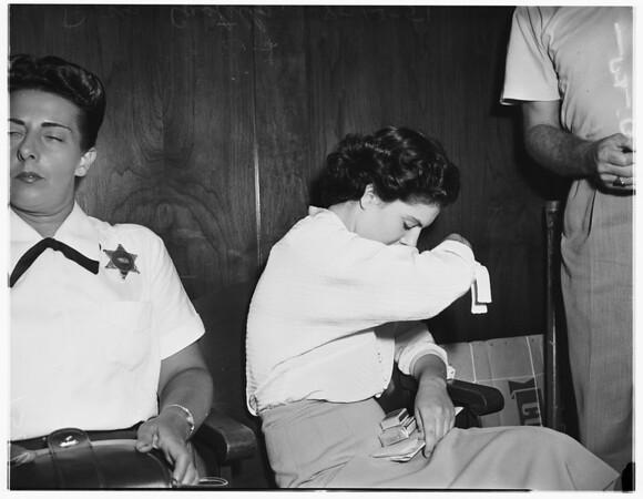 Doris Costello, 1951