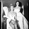 "Crowned ""Miss California"", 1957"