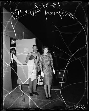Lawfords Return, 1961
