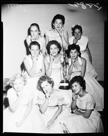 Pirate Queen contestants, 1957