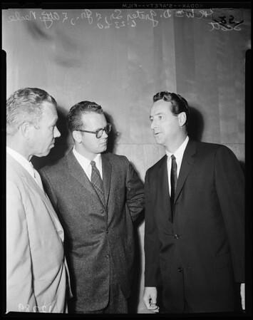 Arsonist suspect, 1960
