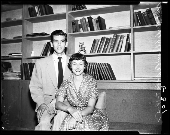 Mr. and Mrs. Robert Berdahl, 1957