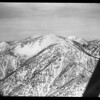 Snow on Mt. Baldy (aerial views by Lind Flight service), 1959