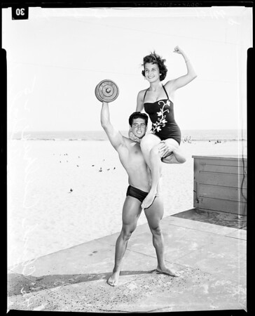 Mr. Muscle Beach Advance, 1957
