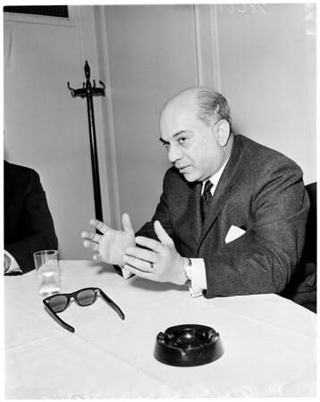 Arab interview, 1960