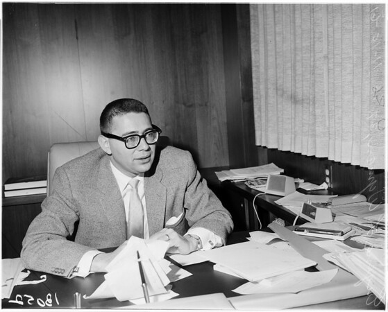 New Southern California Democratic Chairman, 1961