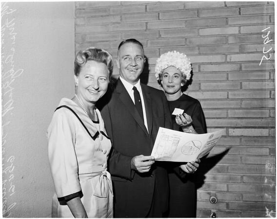 School administrators, 1961