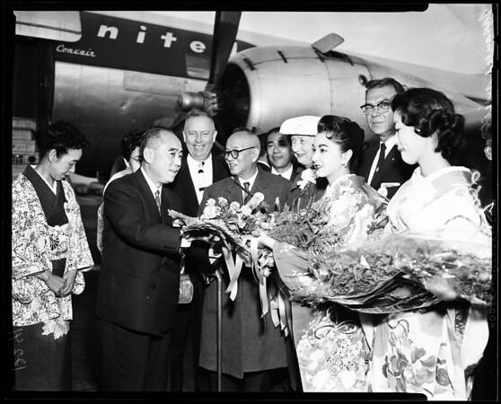 Japanese Visitors, 1957