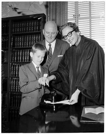New member of State Board of Osteopathic Examiners, 1960