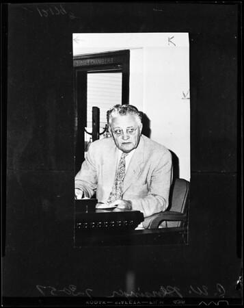 C.W. Pensinger, 1957