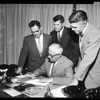 Dade County Florida commissioners, 1957