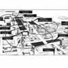 Drawing of Civic Center Parking Facilities, annotated, 1961