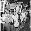 Mock convention (Pepperdine College), 1952