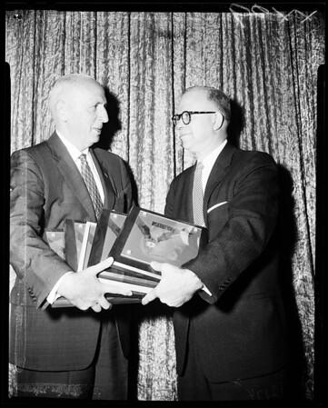 Traffic Safety Awards, 1957