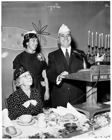 Lady veterans, 1957