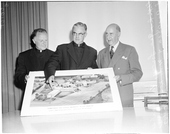 New buildings to be added to Loyola University, 1957