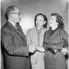 Single Parents Club at Hollywood Los Feliz Jewish Center, 1956