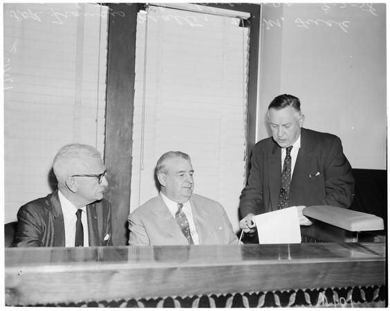 Communist hearing, 1958