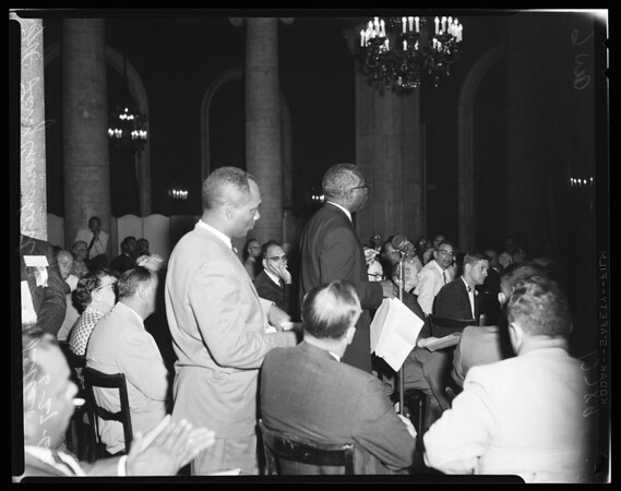 National Education Association meeting at Biltmore Hotel, 1960