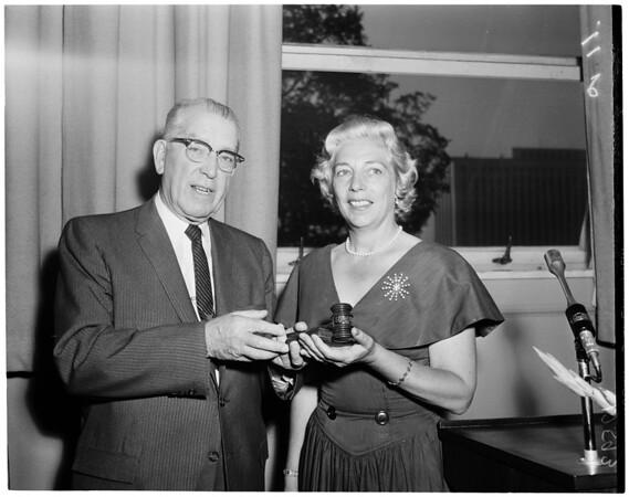 School Board member, 1959
