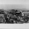 Pasadena in the 1900's with horses and buggies
