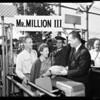 1,000,000th Los Angeles Ram Fan, 1959