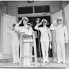 Detail 7 of 9, Navy renews white uniforms, 1954