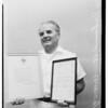 Ambulance driver hero, 1959