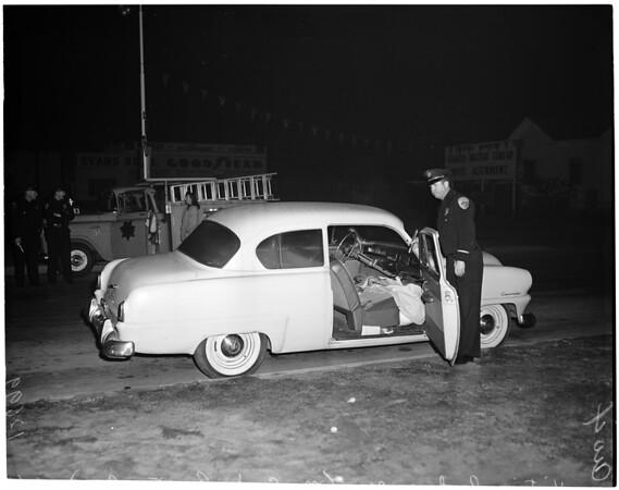 Freshour murder in Downey, 1960