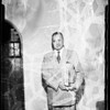 Newly appointed municipal court judge, 1952
