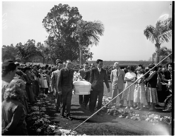 Hull funeral, 1951