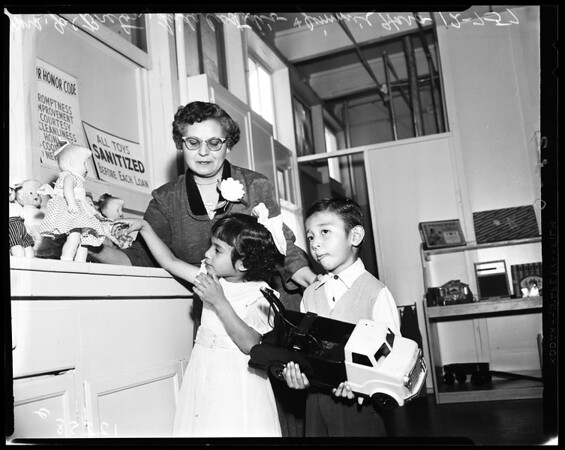 Belvedere Park Toy Loan, 1957