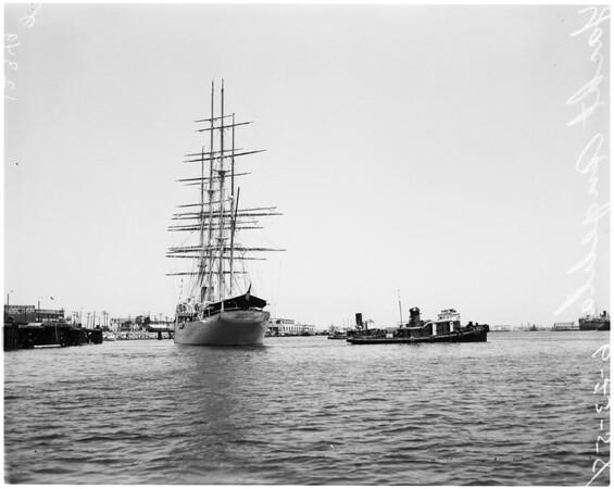 """Trujillo's yacht """"Angelita"""", 1958"""