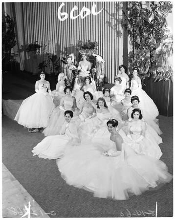 Rose of Castille ball, 1960
