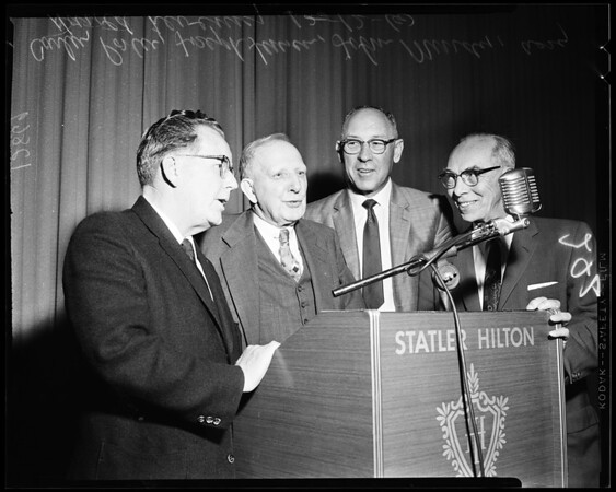 Metropolitan Water District meeting, 1960