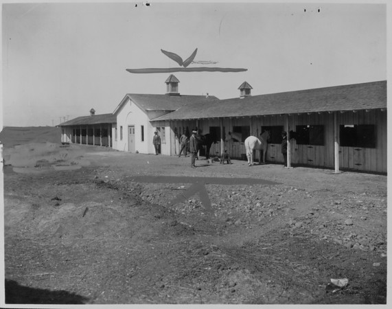 Horse stables in Palos Verdes