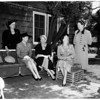 Assistance League Day Nursery, new officers, 1952