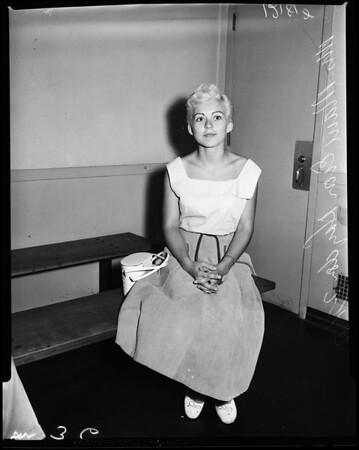 Reckless driving sentence, 1957