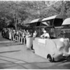 New zoo bus service, 1960