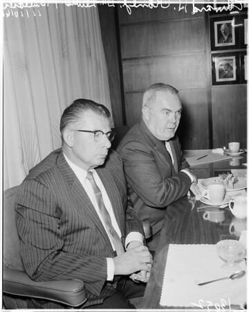Medical Press Conference, 1961