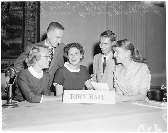 Bullock's scholarships, 1957
