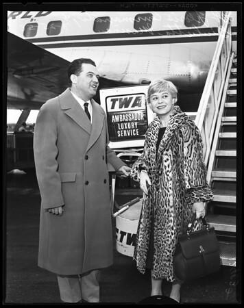 Arrival Italian Oscar contender, 1958