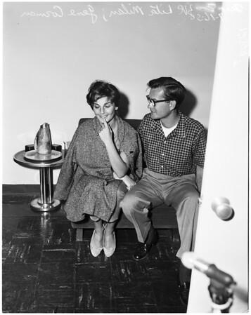 Trujillo's gal friend (sailed with him), 1958